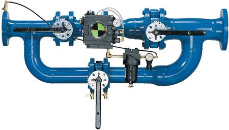 control de flujo y presión QUINCY PFC